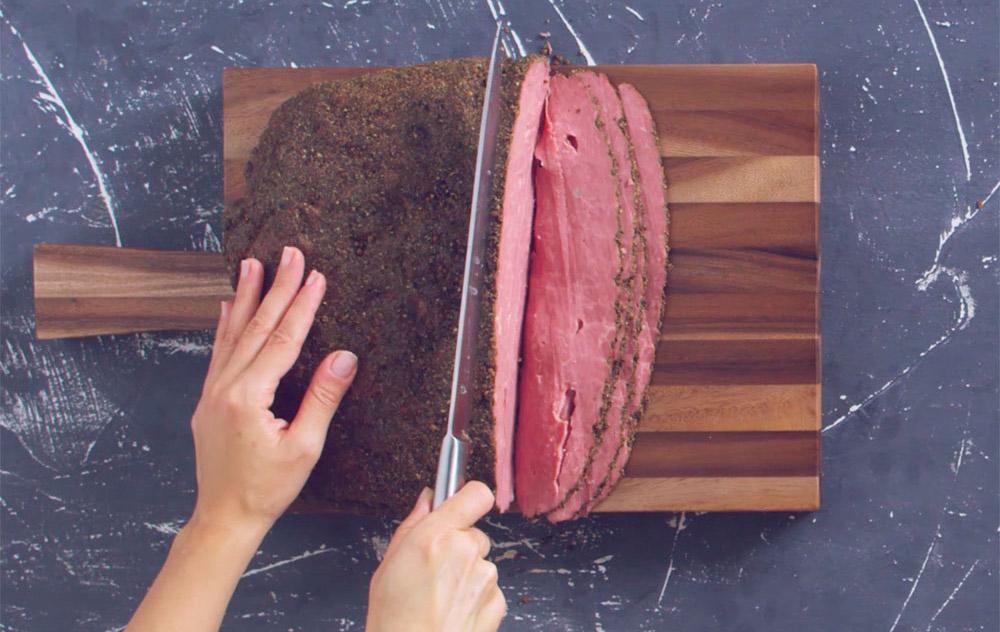 Lavorazione del Pastrami